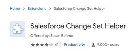 Salesforce-Change-Set-Helper