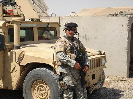 Jeff in Iraq - 2006